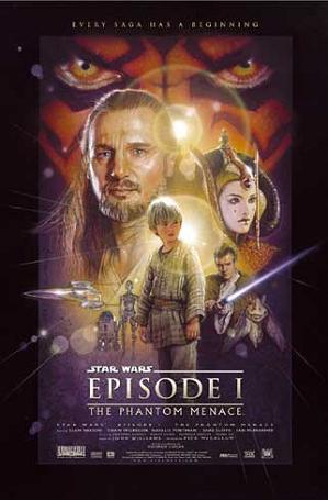 Star Wars Episódio I: A Ameaça Fantasma #Prequel #Filme #Ficcaocientifica #DeliDaPersy