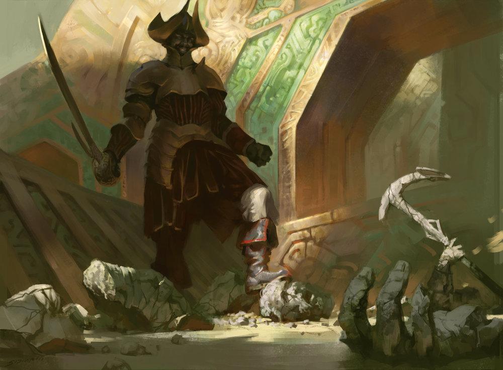 Vraska's-Conquistador-Rivals-of-Ixalan-MtG-Art.jpg