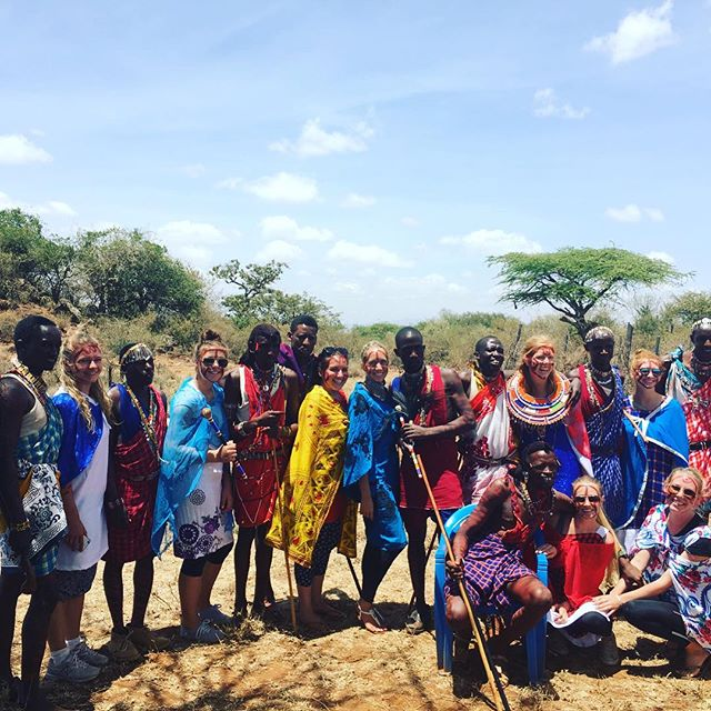 Some of our volunteers visiting the beautiful Maasai Mara during their downtime away from the classroom. Visit our website to learn how this could be you!