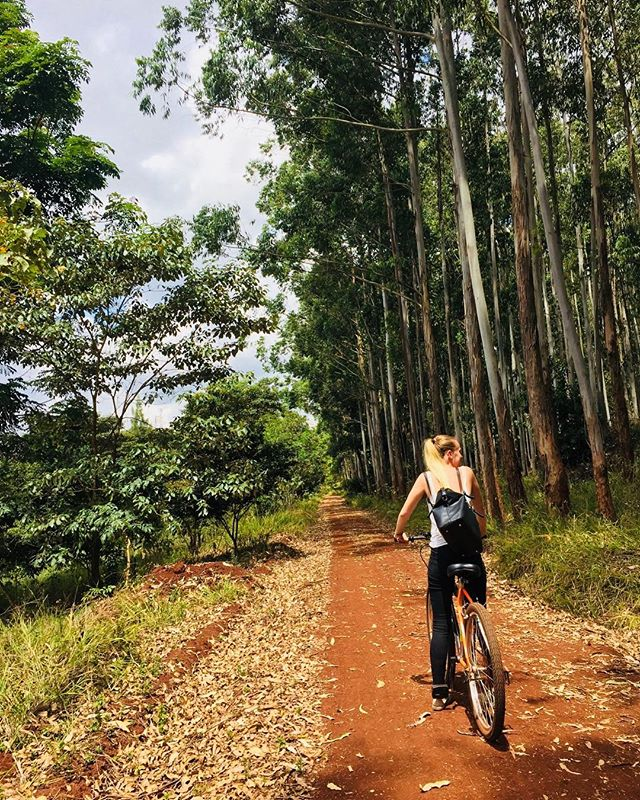 Bike riding might not be the first thing that comes to mind when you think about Kenya but there are plenty of beautiful rides to enjoy!