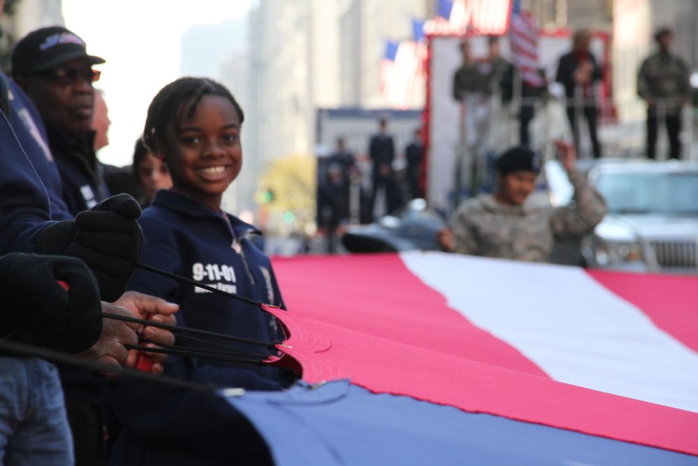 Veterans Day Parade in N.Y.C 2012. Photograph by Cierra Mazzola