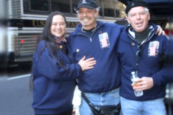 Left to Right: Denise, Johnny & John