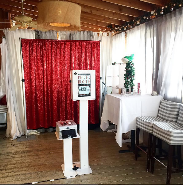 Modern Photo Booth Setup
