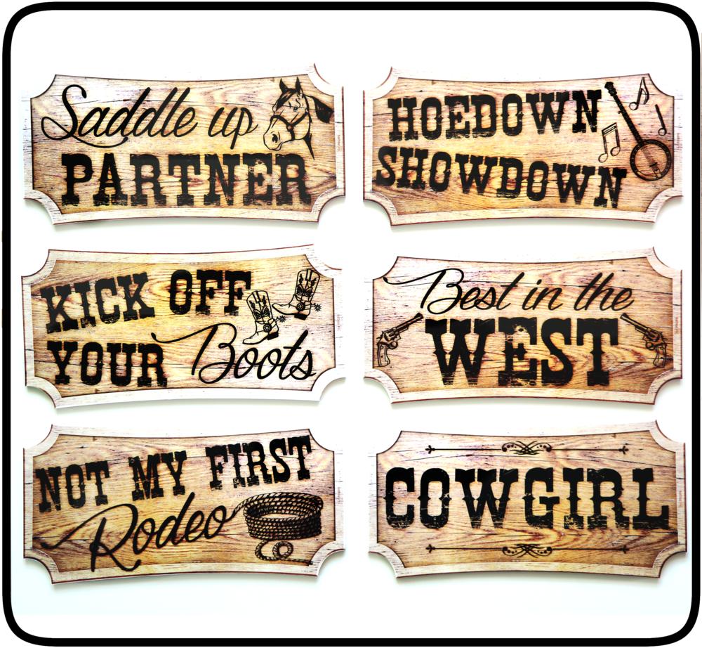 cowboy props