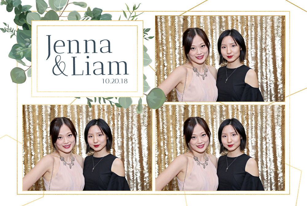 Eucalyptus Wedding Photo Booth Template