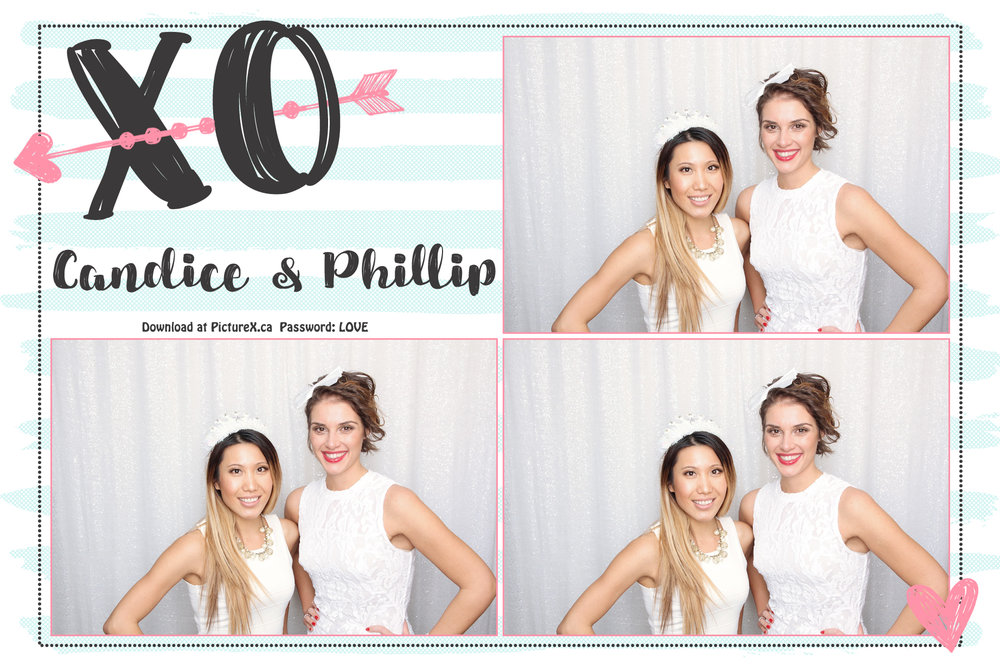 love wedding photobooth template