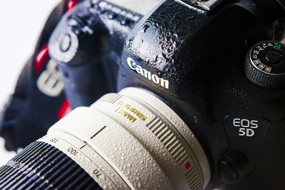 HOLD BACK THE RAIN: Weather sealing is a must-have for photographers who like to shoot outdoors.