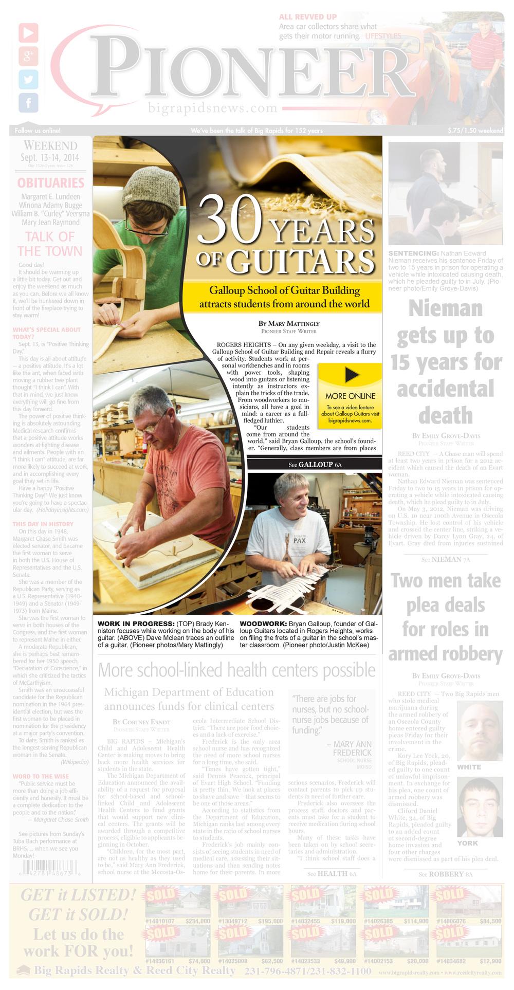 30 Years of Guitars