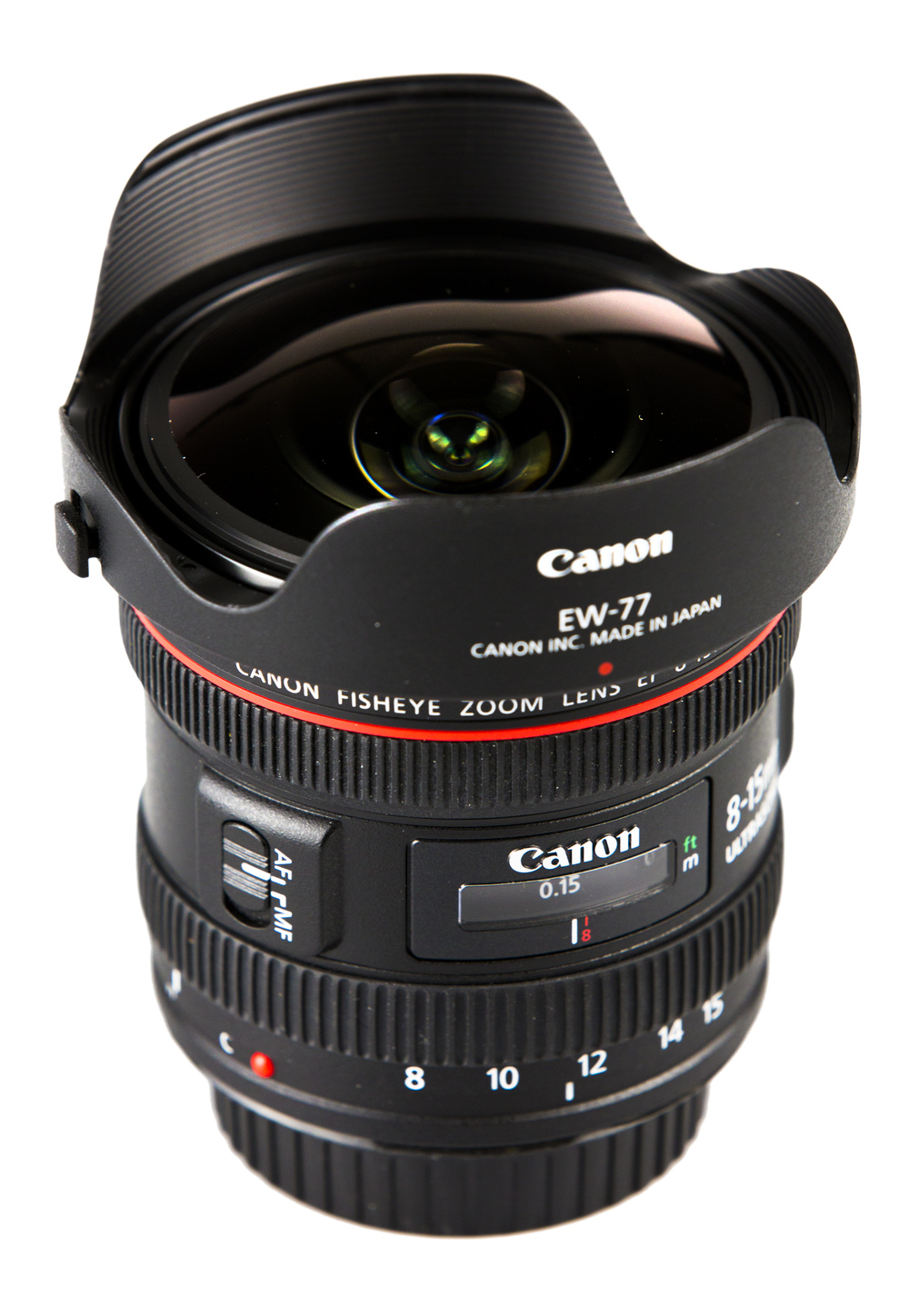 Canon 8-15mm fisheye
