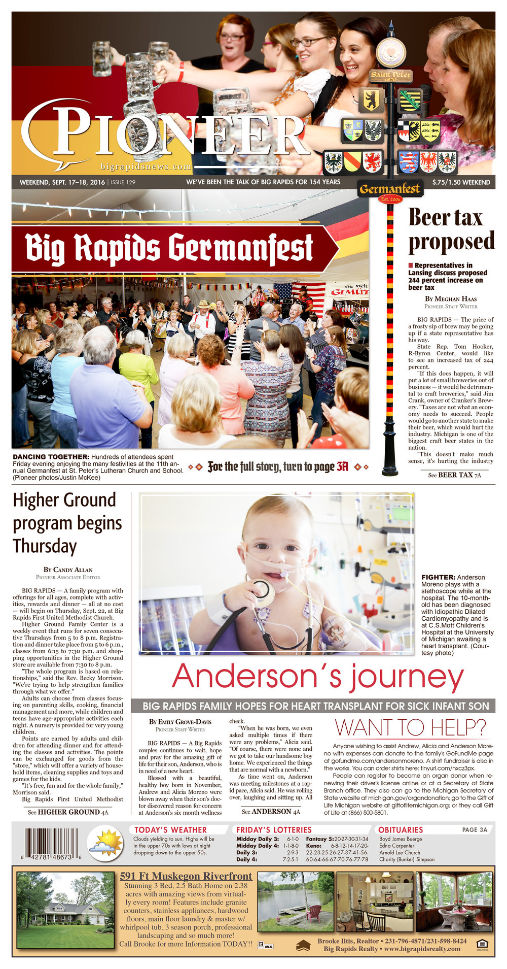 Germanfest Front Page