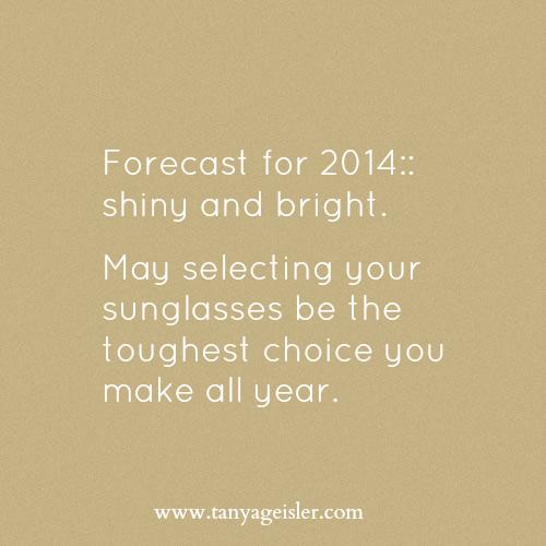 forecast for 2014