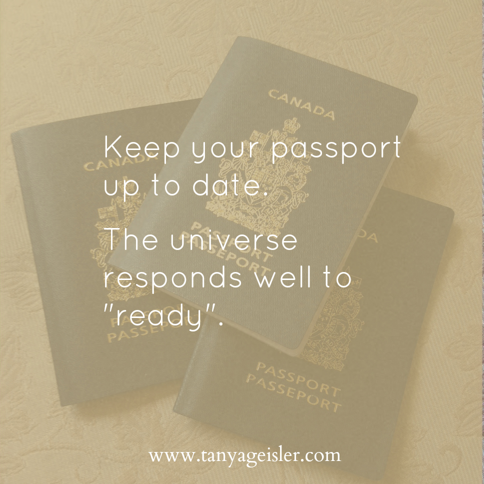 Keep your passport up to date