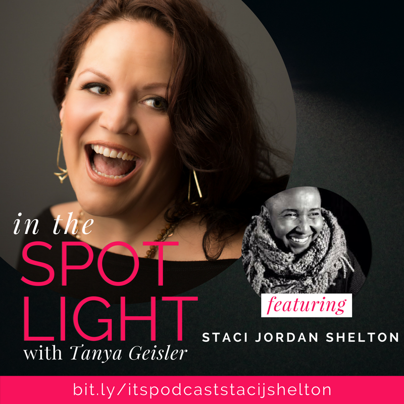 in the spotlight with staci jordan shelton on unraveling
