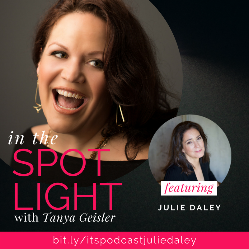 in the spotlight with julie daley igniting the heart's desire