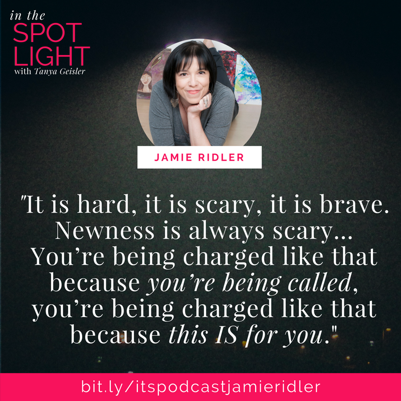 in the spotlight with jamie ridler