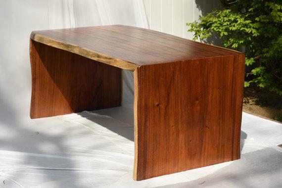 Monkey Wood Desk