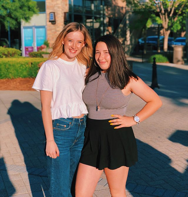 long lost sistaaa // swipe to see the last time we saw each other