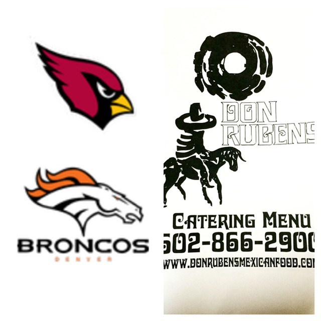 Go #cardinals !!! 🏈 check out our catering menu (donrubensmexicanfood.com) and #DRMEX can hook you up with all your game day party essentials. No order too big or too small!