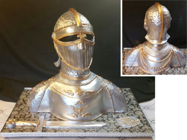 Knight in Armor Cake - La Petite Confections.png