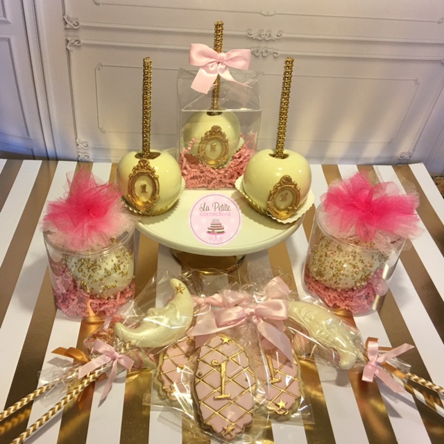 Treats Table Golden - La Petite Confections.JPG