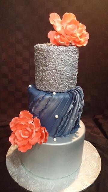 Floral Cake - La Petite Confections.JPG