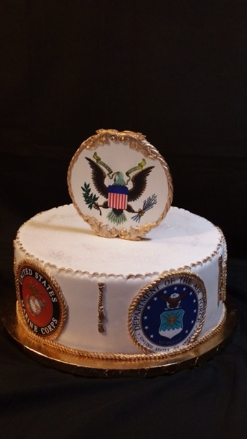 US Military Cake - La Petite Confections.JPG