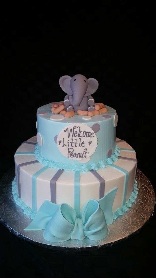 Baby Shower Cake - La Petite Confections.JPG