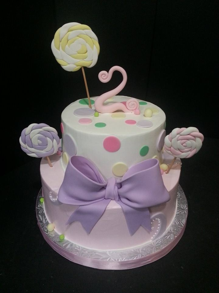 Candyland Birthday Cake - La Petite Confections.JPG