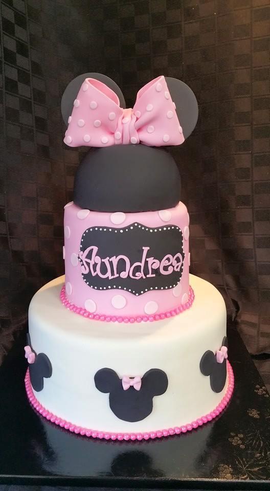 Pink Birthday Cake - La Petite Confections.jpg