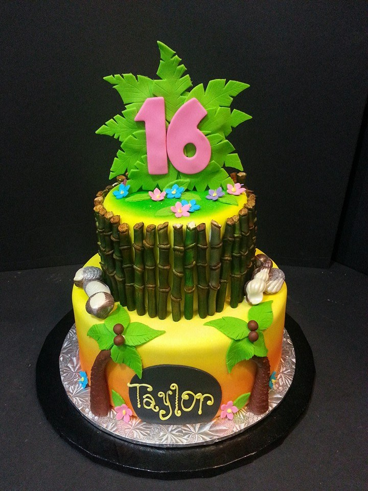 Sweet Sixteen Birthday Cake - La Petite Confections.jpg