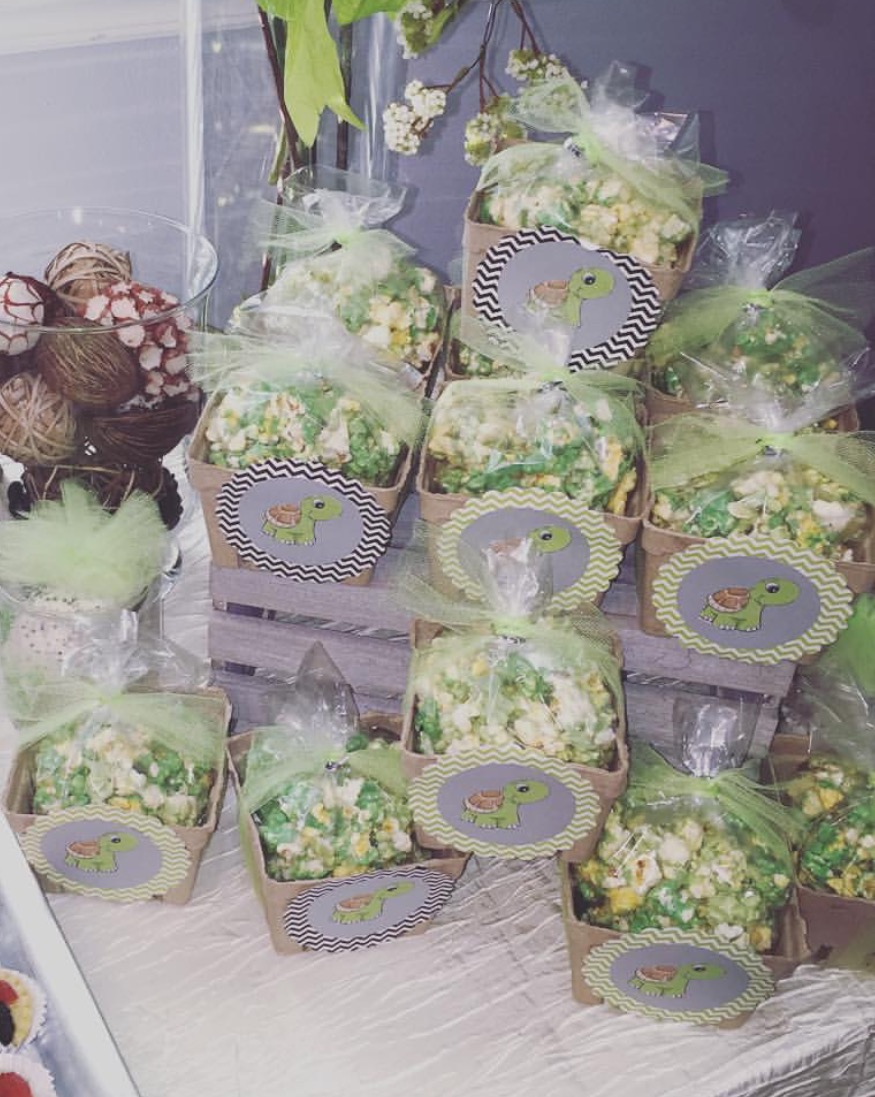 Flavored Popcorn on Sweets Table - La Petite Confections.JPG