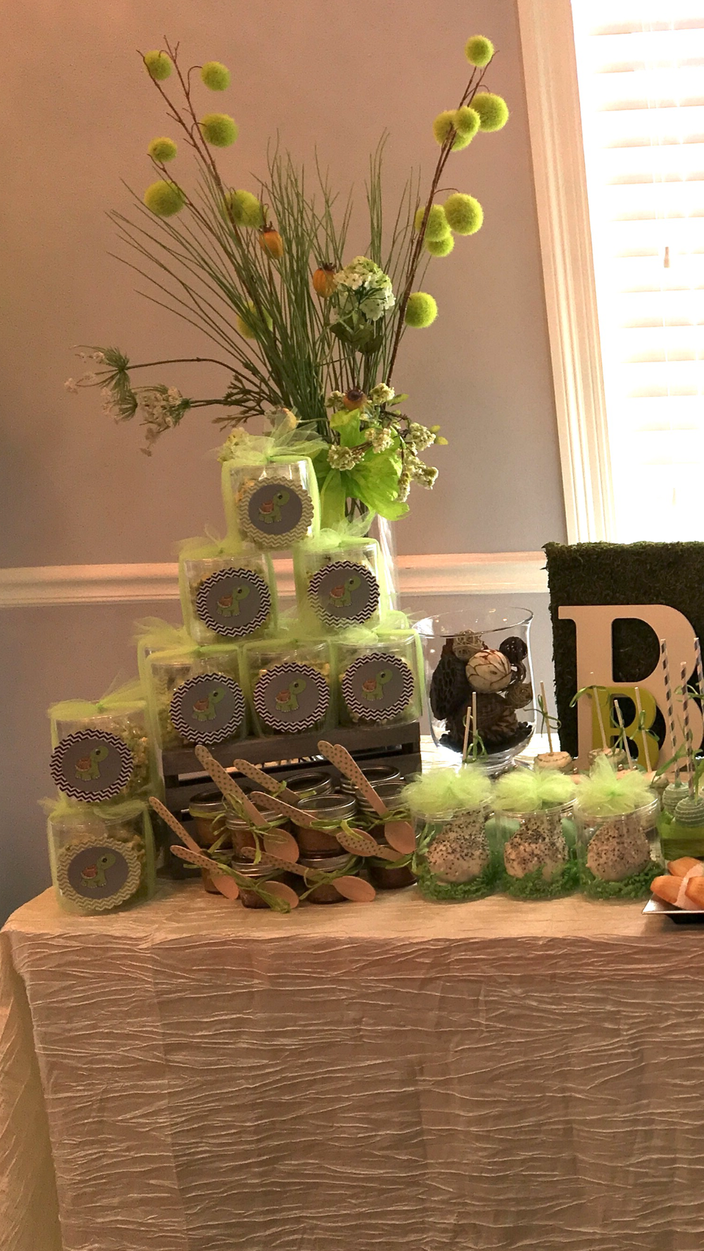 Sweets Table for Baby Shower - La Petite Confections.PNG