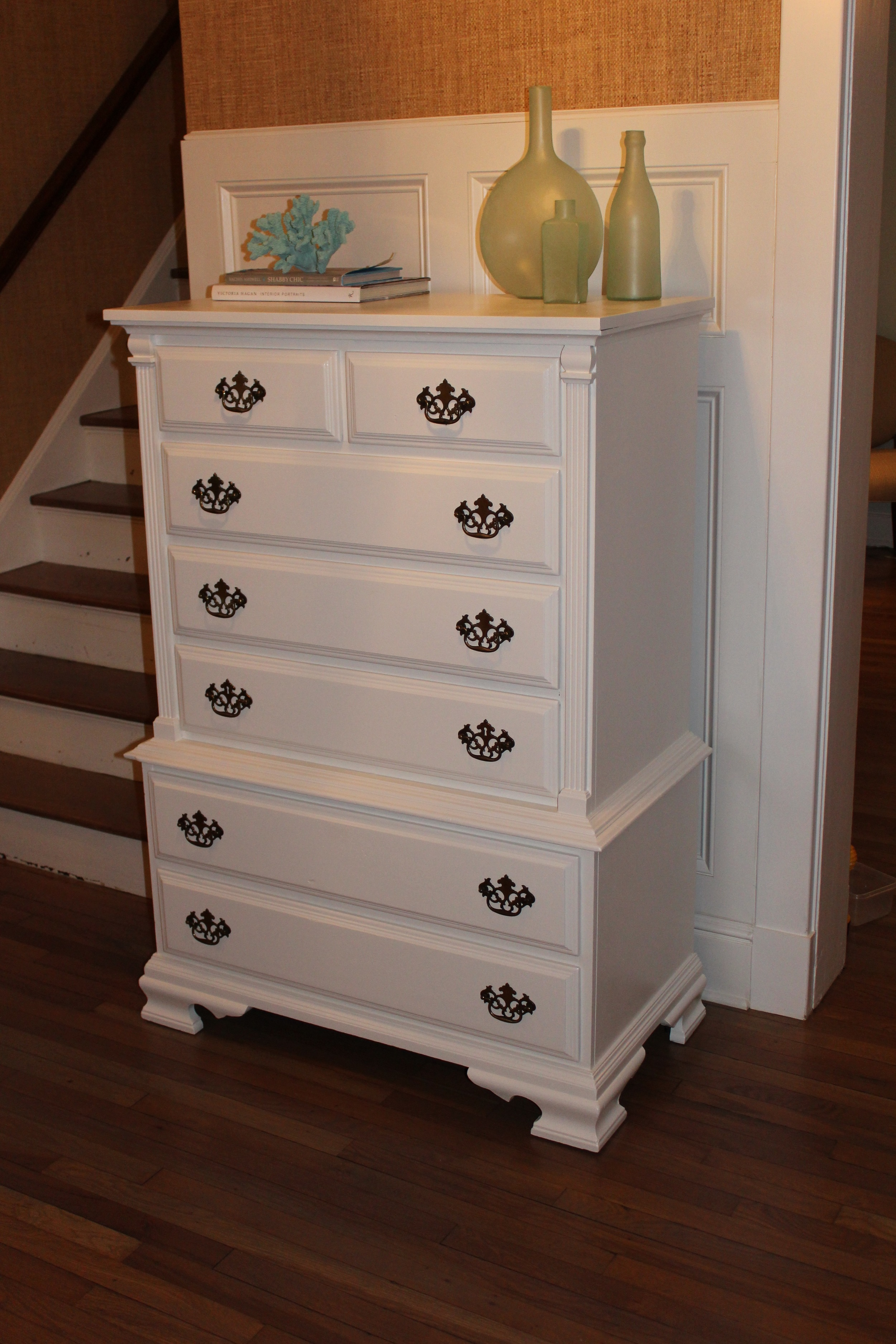 needed eighth drawer white with henredon park double dresser brass dresse style pull campaign vintage products artefacts pulls picture
