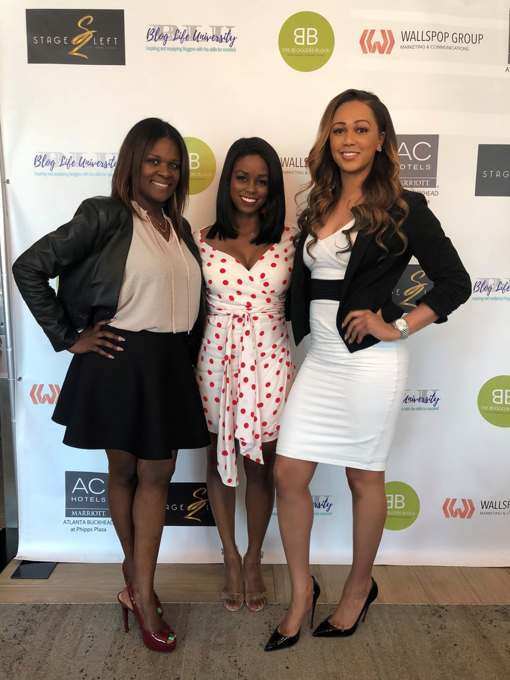 Dayana Brown, left. Ariel Anderson of WAGS Atlanta, right.
