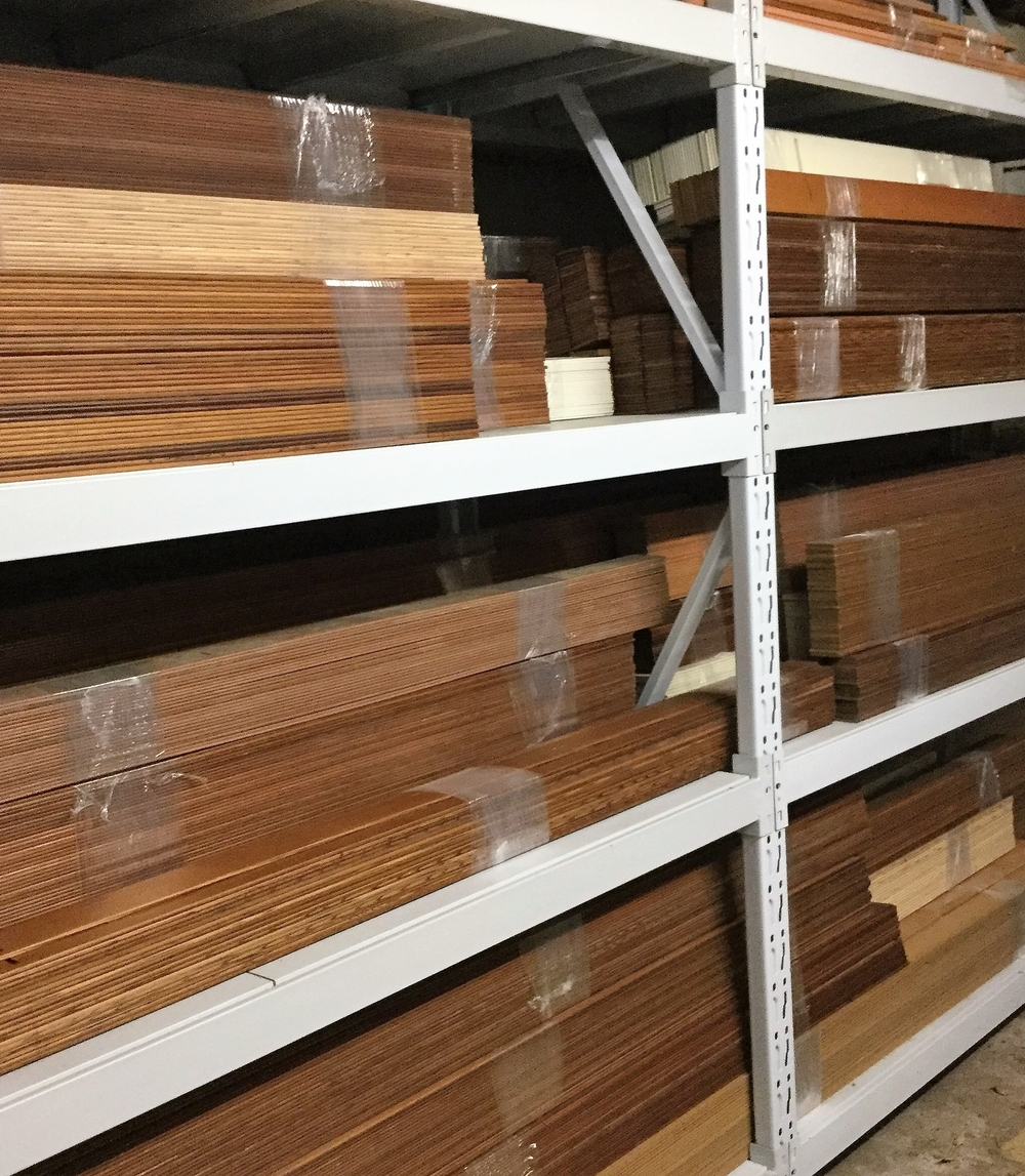Storage of Wooden Slats
