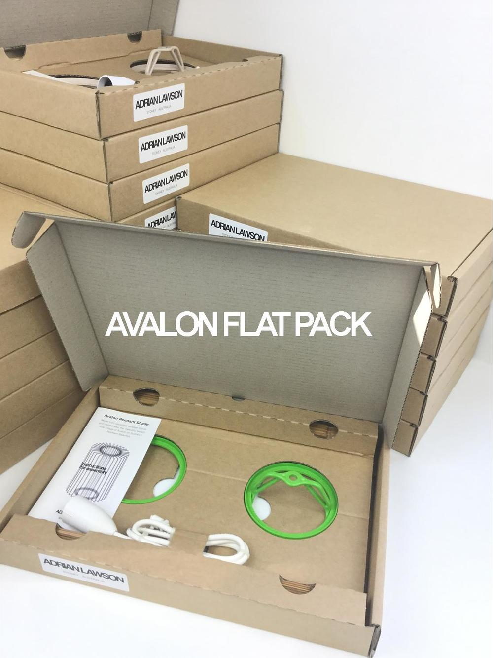 Avalon 390 #7 Flat Pack