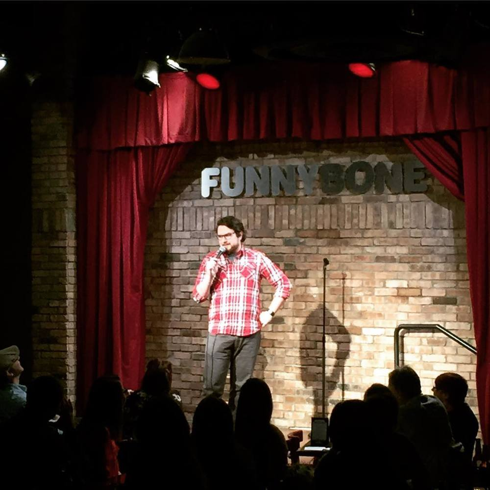 Tom Plute has been running the Comedy Death Spot Open Mic since 2013 (now at it's new home at The Tree Bar), as well as the Whiskey Deep podcast.