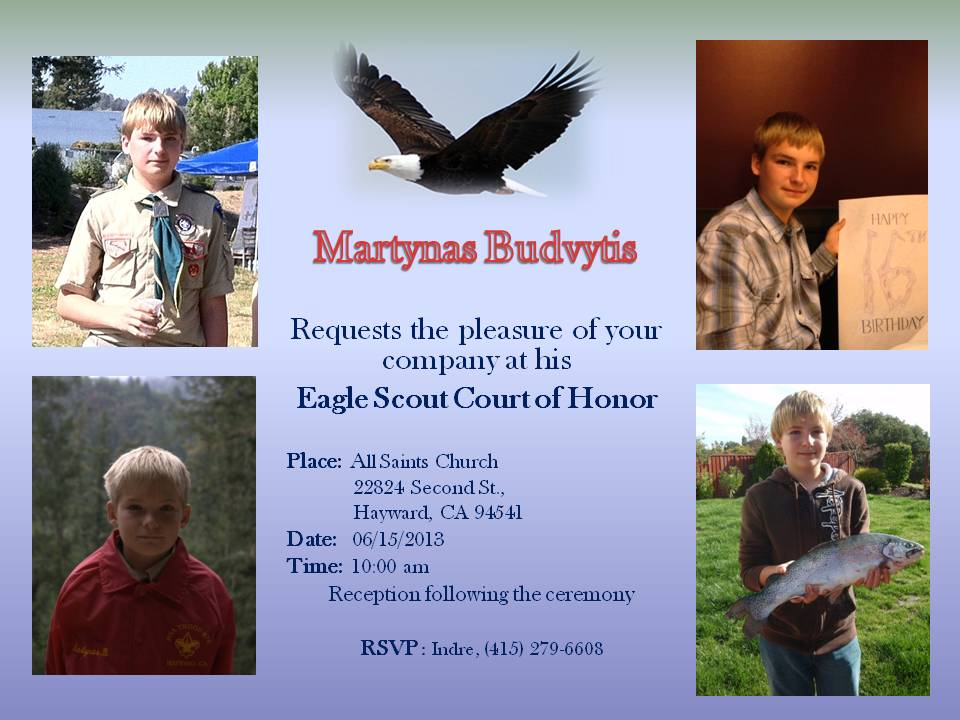 Martynas Invitation