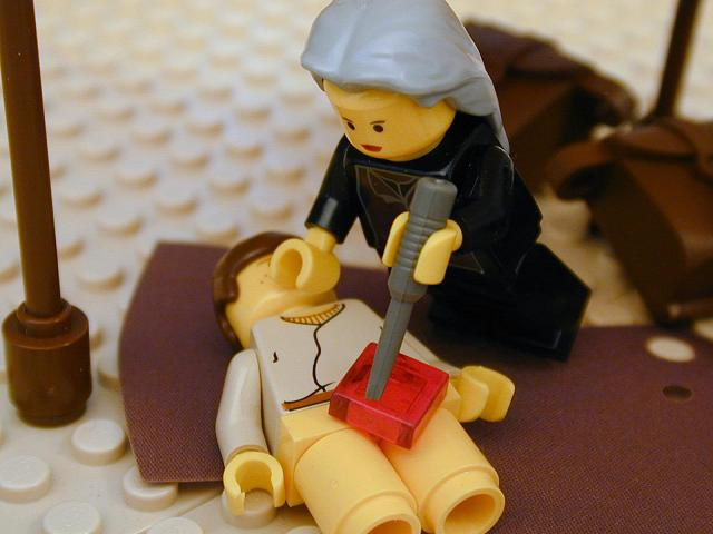 I think this is one of those Bible stories, that if we wanted to keep it PG, it would have to be a Lego version