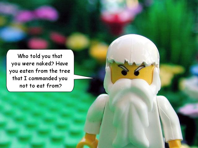 You've seen White Jesus. But have you seen White God? (And yes, I unashamedly still love Legos. Ask my wife.)