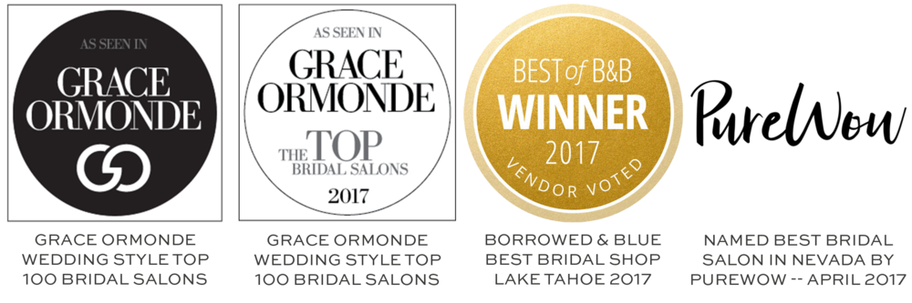 Grace Ormonde Wedding Style Top 100 Bridal Salons