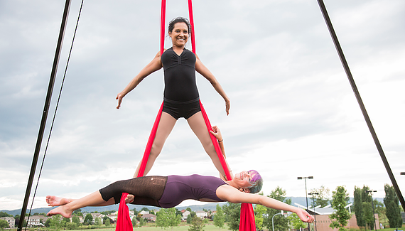 Aerial Silks Fort Collins