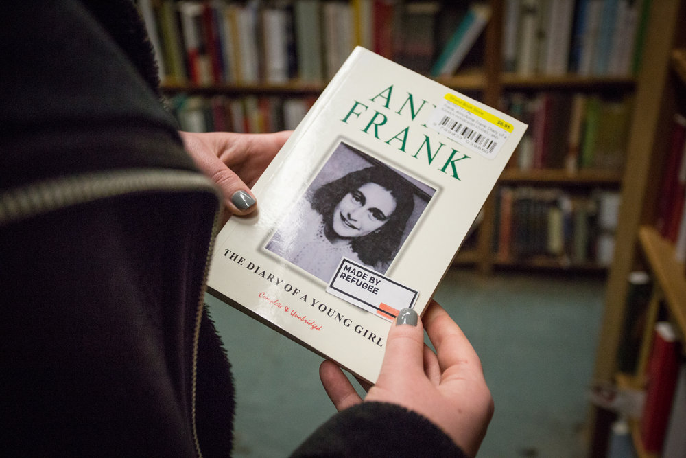 Anne Frank - Diarist - German refugee