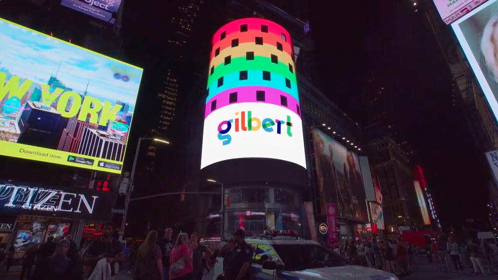We had a Times Square takeover for one month.
