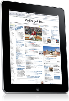 iPad Safari Web Browser