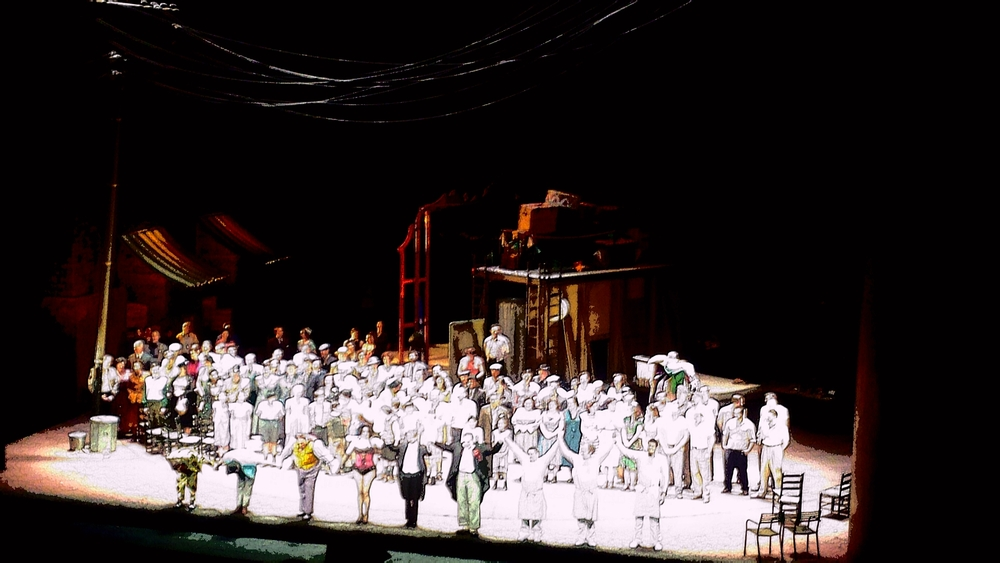 Pagliacci, curtain call February 26, 2016