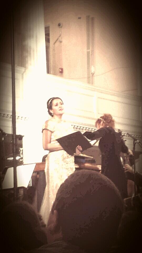 Amanda Forsythe and Jeannette Sorrell
