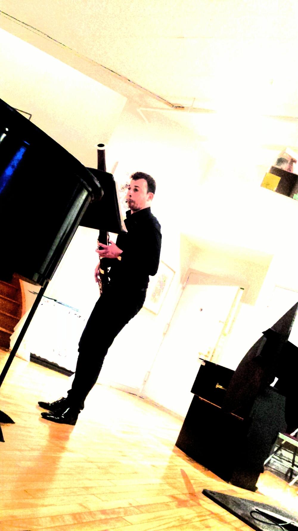 David A. Nagy, bassoon.