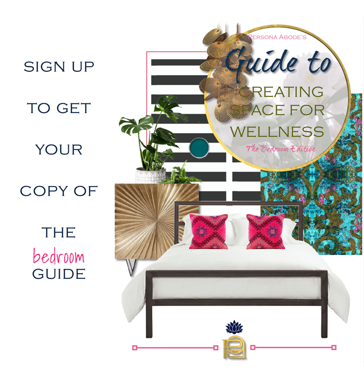 Tips to create space for your wellness in the bedroom reside in the FREE guide, available in exchange your email.  CLICK HERE