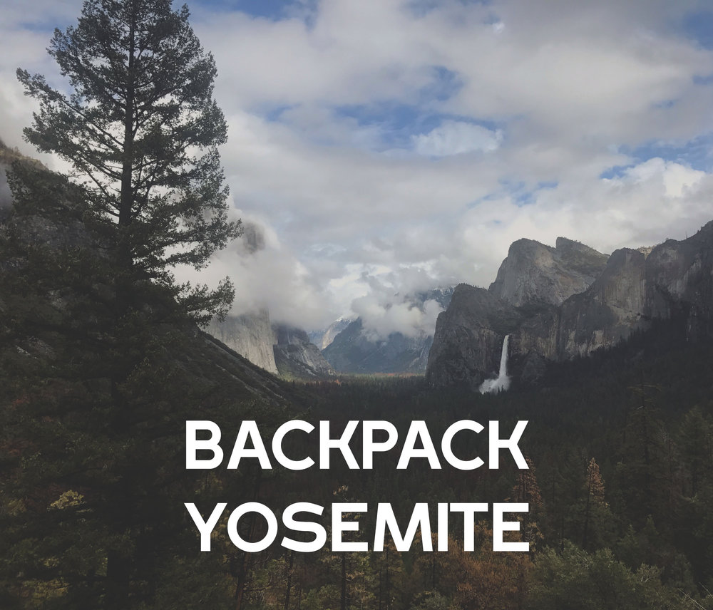 Overnight camping adventure in Yosemite national forest. Camping, hiking and backpacking adventure tours to Yosemite's waterfalls and other great destinations.